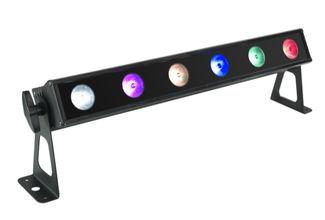 6x 8W RGBW led bar 1 / 2