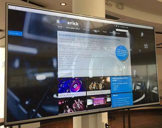 55 inch uHD led-scherm 1 / 1